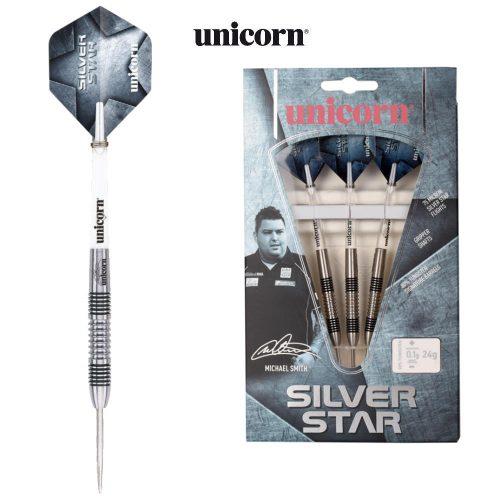 unicorn-steel-dart-set-michael-smith-silverstar